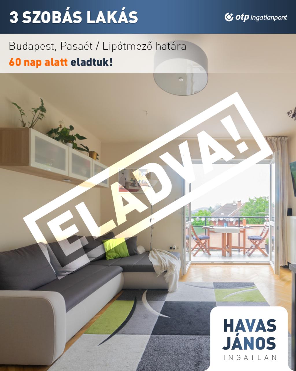 Eladó Lakás Budapest Lipótmező